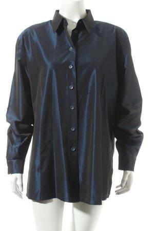 Basler Langarm-Bluse dunkelblau Casual-Look
