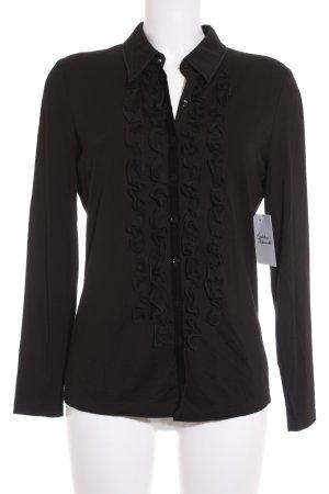 Basler Langarm-Bluse schwarz Elegant