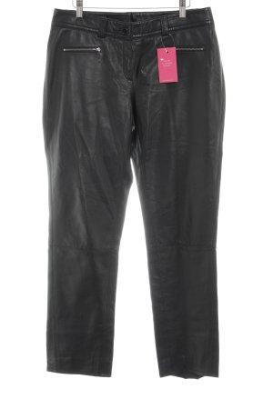 Basler Lederhose schwarz