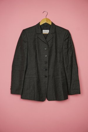 Basler Long Blazer anthracite wool