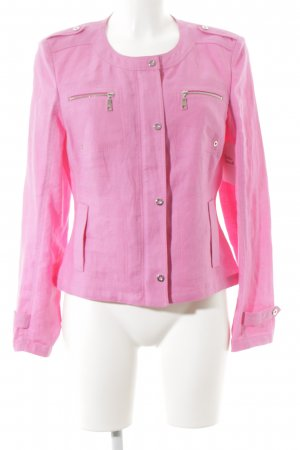 Basler Long-Blazer pink Business-Look
