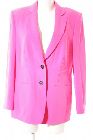 Basler Long-Blazer pink-schwarz Business-Look