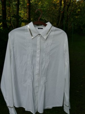 Basler Shirt Blouse white-silver-colored