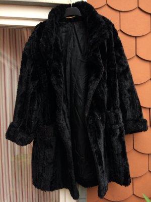 Basler Mantel Fake Fur Coat Fellimitat Kunstfell Teddyjacke Trend Wintermantel kuschelig