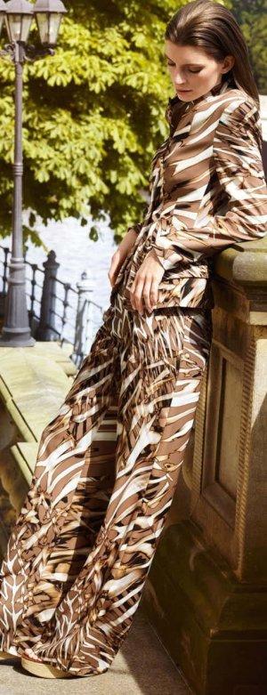 Basler Marlene Trousers multicolored