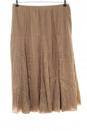 Basler Maxi Skirt brown casual look
