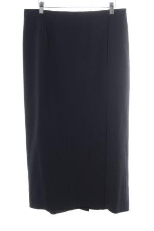 Basler Maxi Skirt dark blue casual look