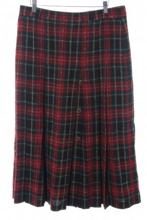 Basler Midi Skirt glen check pattern casual look