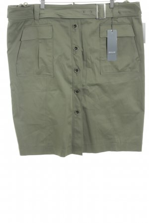 Basler Jupe mi-longue gris vert style mode des rues