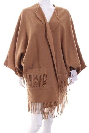 Basler Poncho camel Boho-Look