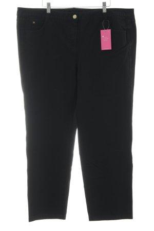 Basler Drainpipe Trousers black casual look