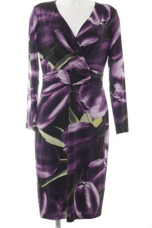 Basler Robe tube multicolore tissu mixte
