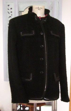 Basler Blazer en laine noir tissu mixte