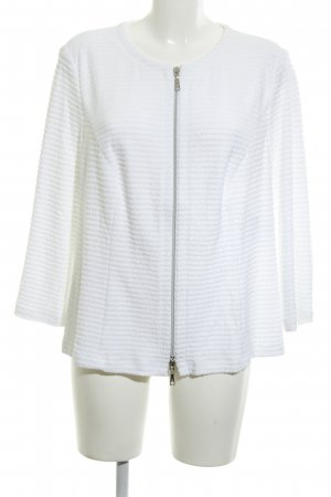 Basler Shirt Jacket white striped pattern