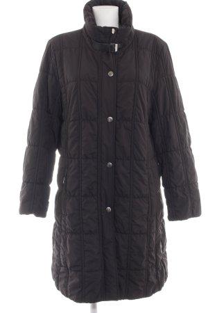 Basler Sport Manteau matelassé noir motif de courtepointe style décontracté