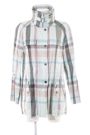 Basler Sport Between-Seasons Jacket check pattern athletic style