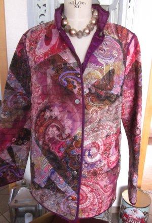Basler Manteau court violet foncé-violet polyamide