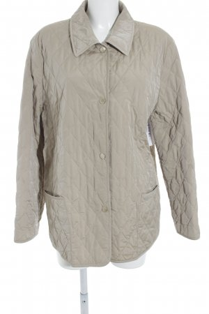 Basler Steppjacke beige Steppmuster Street-Fashion-Look