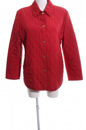 Basler Quilted Jacket red quilting pattern casual look
