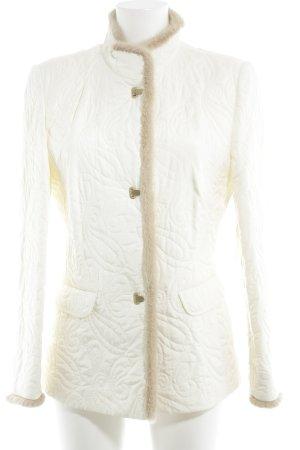 Basler Giubbotto trapuntato beige chiaro motivo trapuntato elegante