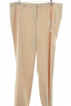 Basler Stoffhose beige Business-Look