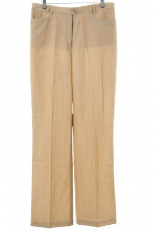 Basler Stoffhose creme-beige Business-Look