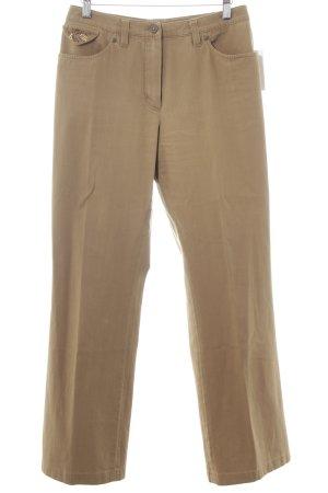 Basler Straight-Leg Jeans beige Boho-Look