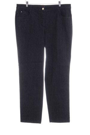 Basler Jeans a gamba dritta grigio scuro stile casual