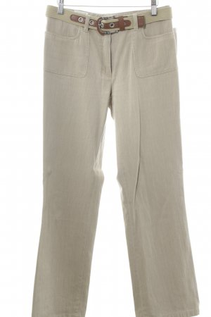 Basler Straight-Leg Jeans sandbraun meliert Casual-Look
