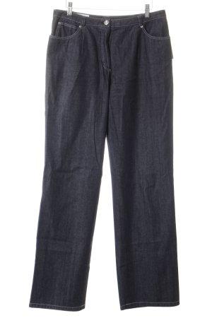 Basler Straight-Leg Jeans schwarz Casual-Look