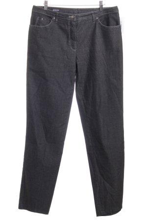 Basler Straight-Leg Jeans schwarz Street-Fashion-Look