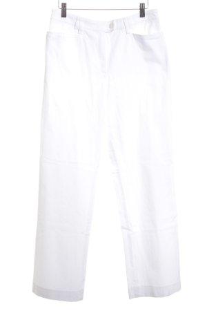 Basler Straight-Leg Jeans weiß Casual-Look