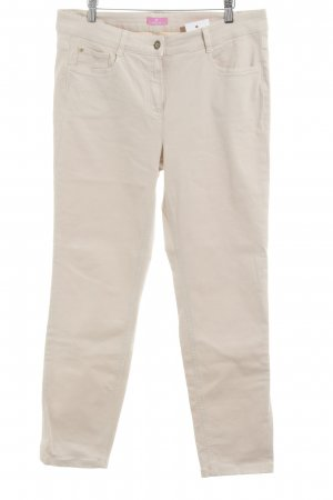 Basler Stretch Jeans creme Casual-Look