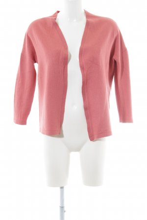 Basler Strick Cardigan rosa Casual-Look