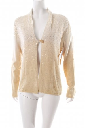 Basler Strickjacke creme-gelb Business-Look