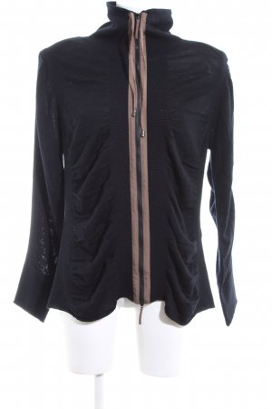 Basler Cardigan black-nude casual look