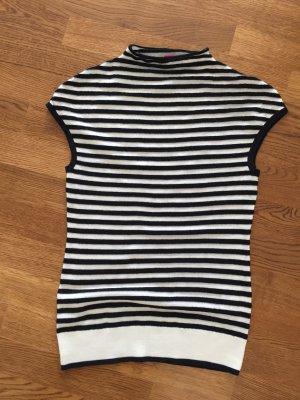 Basler Sweater donkerblauw-wit Scheerwol