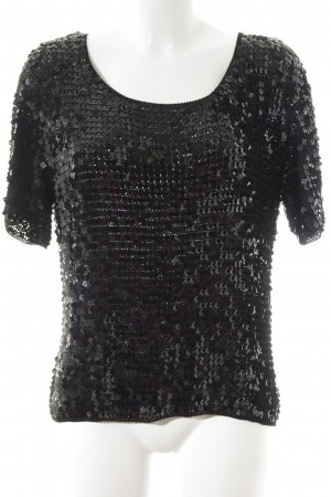 Basler Strickshirt schwarz Party-Look