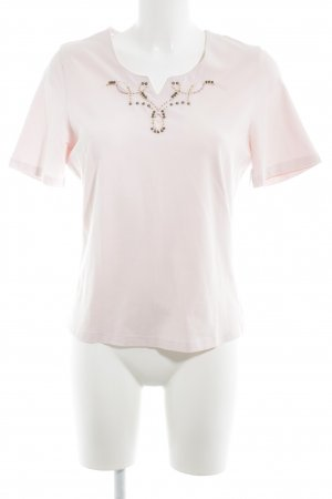 Basler Camiseta rosa look casual