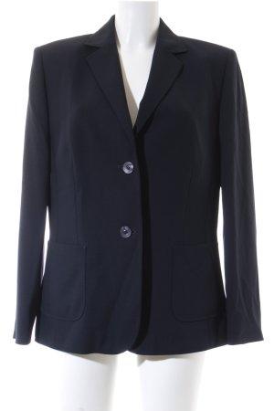 Basler Tweedblazer dunkelblau Business-Look