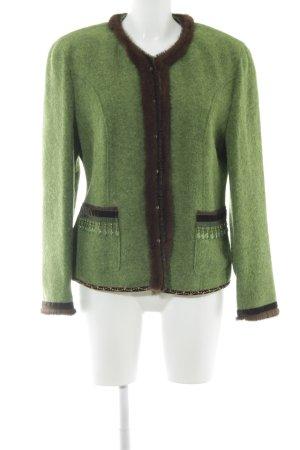 Basler Übergangsjacke grün-braun minimalistischer Stil