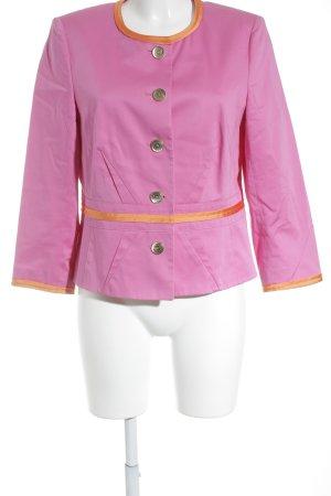 Basler Unisex-Blazer rosa-orange Business-Look