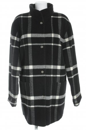 Basler Reversible Jacket black-white check pattern casual look