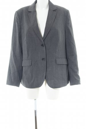 Basler Wool Blazer light grey flecked business style