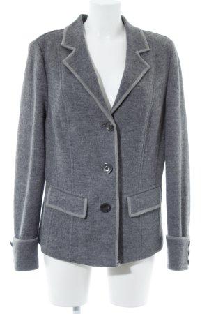 Basler Wollen blazer grijs-lichtgrijs zakelijke stijl