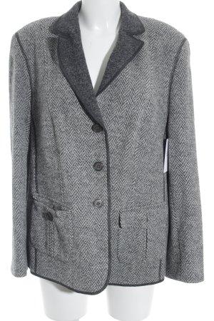 Basler Woll-Blazer grau-weiß