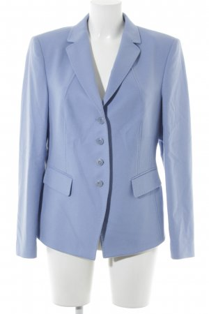 Basler Blazer in lana azzurro stile professionale