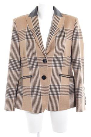 Basler Blazer in lana motivo a quadri stile professionale
