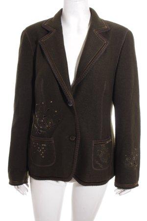 Basler Woll-Blazer mehrfarbig Vintage-Look
