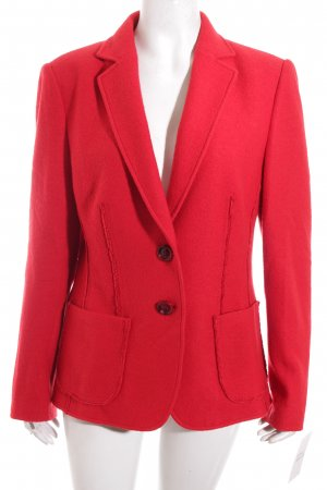 Basler Woll-Blazer rot Casual-Look